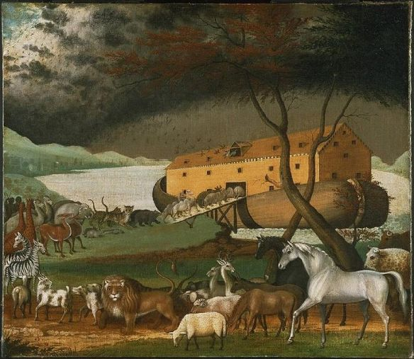 Did the pathogens fit on the Ark?